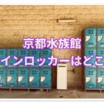 京都水族館のコインロッカーはどこ?手ぶらで楽しんじゃおう!!